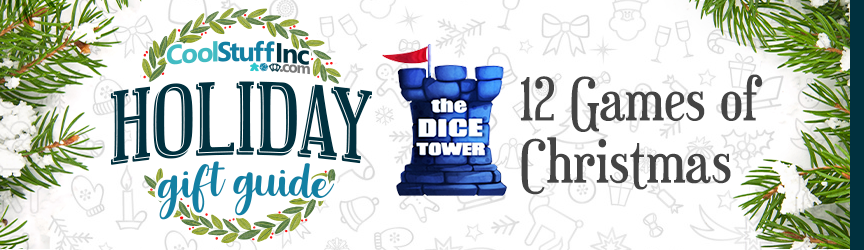 Holiday Gift Guide - The Dice Tower's 12 Games of Christmas