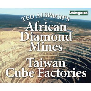 Steam/Age of Steam Expansion: African Diamond Mines & Taiwan Cube Factories