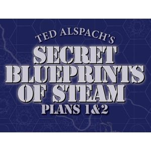 Age of Steam Expansion: Secret Blueprints of Steam Plans 1 & 2